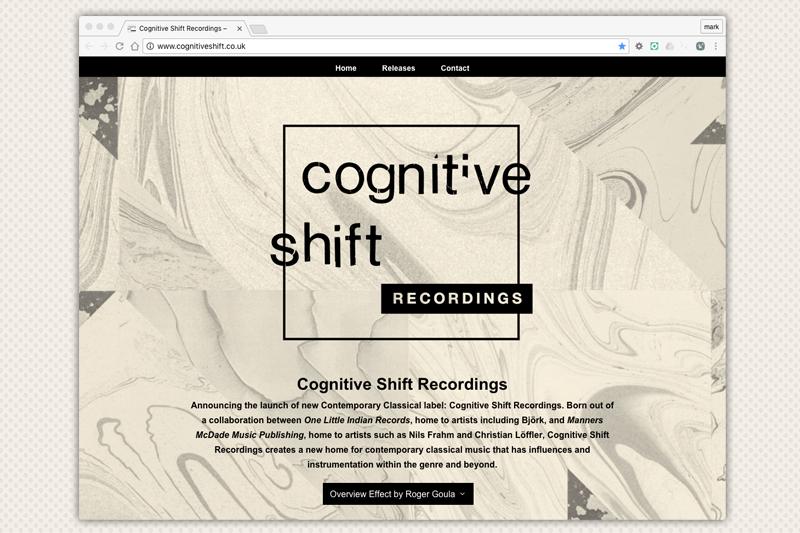 Cognitive Shift Recordings Website